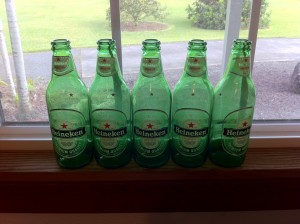 These bottles of Heineken were on sale at KTA. What can I say?